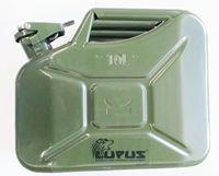 Galão De Combustível  Reserva 10 Litros - Metal Com Bico