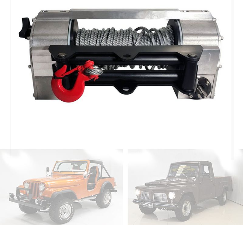 Guincho Mecânico 8 Toneladas Jeep Willys, Rural E F-75