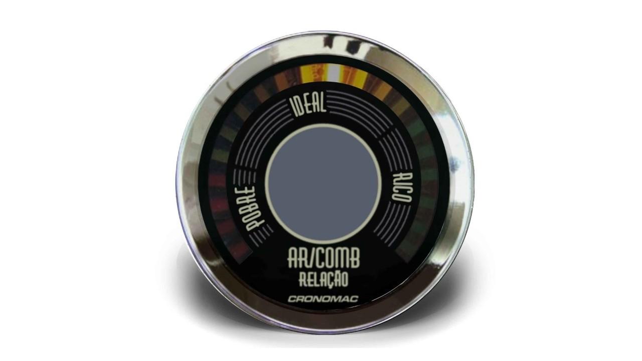 Hallmeter Indicador Mistura 52mm Bege Fusca/ Kombi/ Brasilia