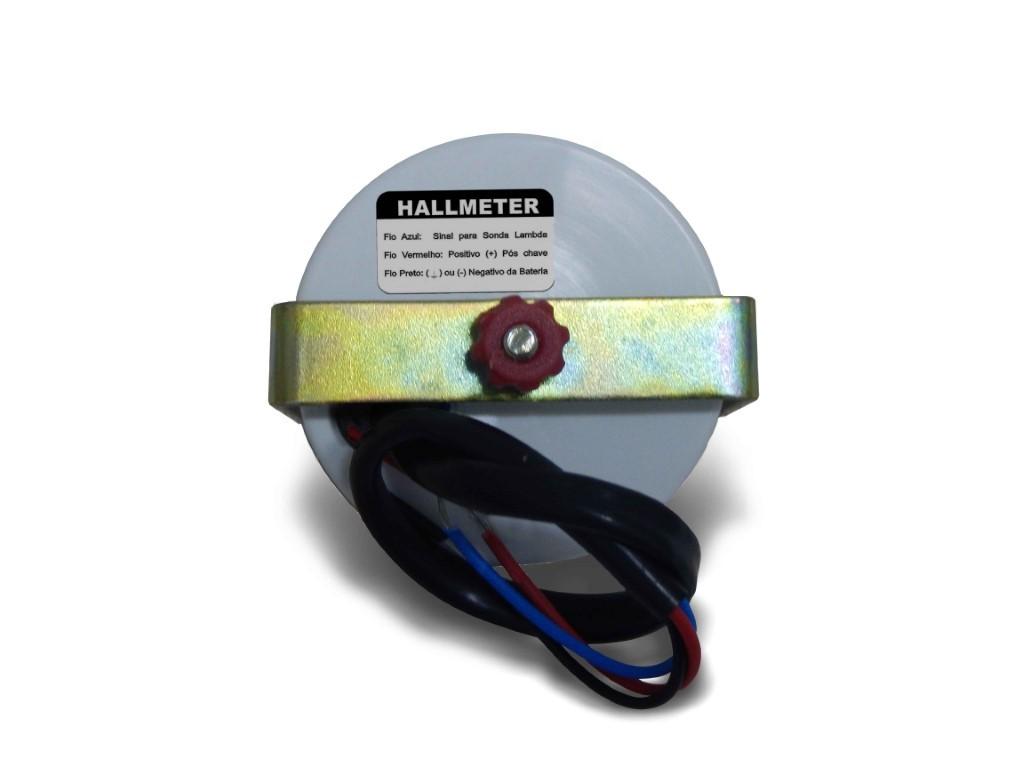 Hallmeter Indicador Mistura 52mm Vd - Fusca/ Kombi/ Brasilia