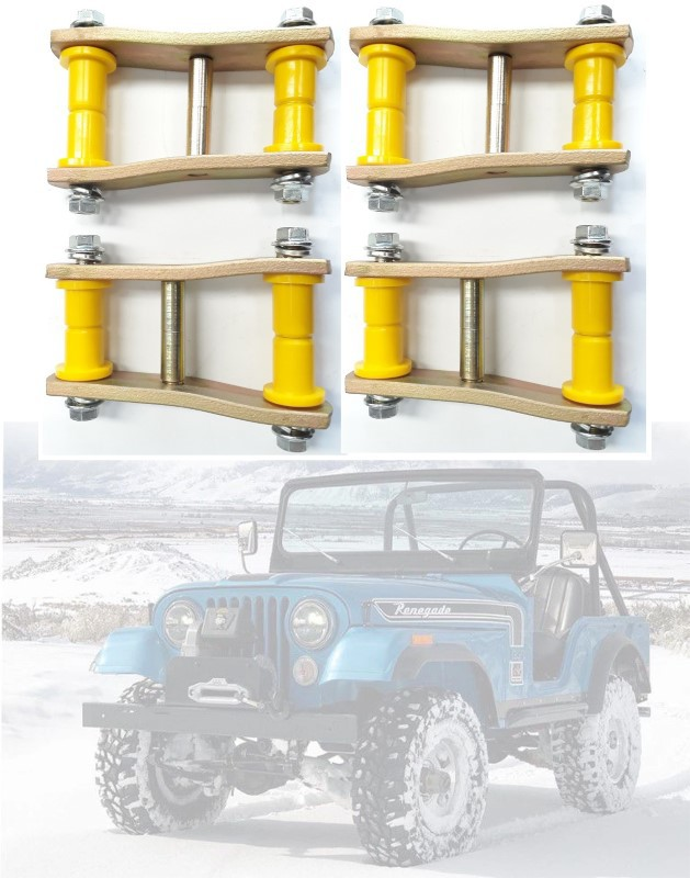 Jumelo Alto Jeep Willys Cj5 - KIT COM 2 PARES