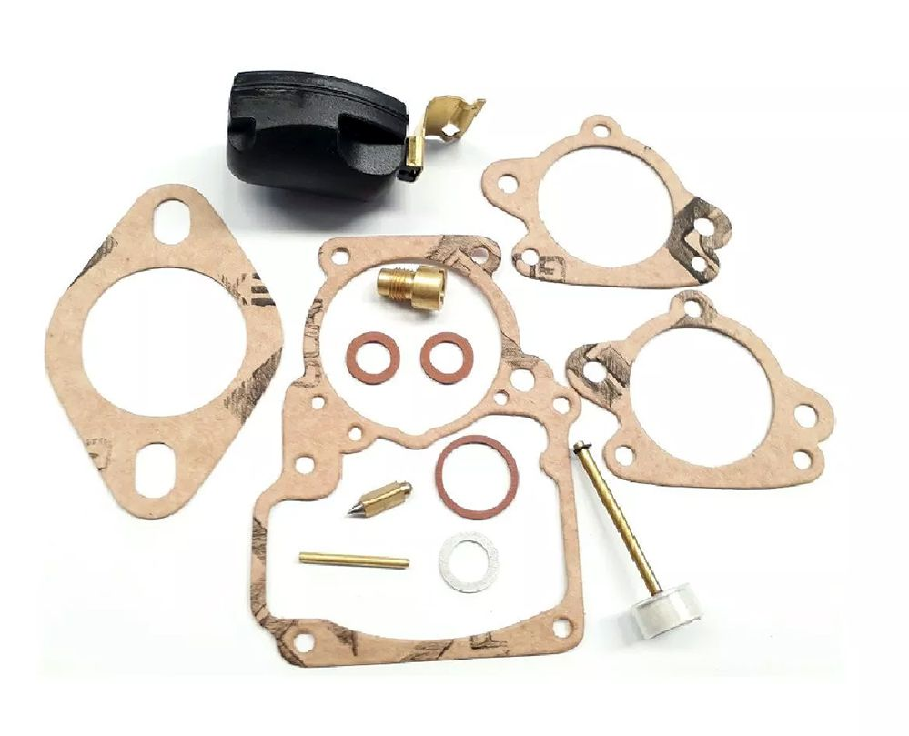 Kit Reparo Carburador Jeep Willys/ Rural/ C-10 - 6cc