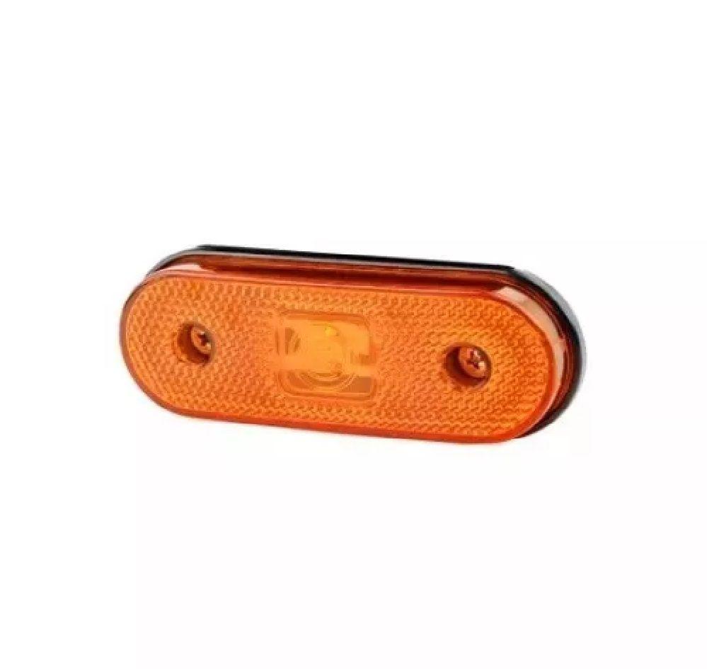 Lanterna Lateral Universal Com Soquete Tipo Facchini - Ambar