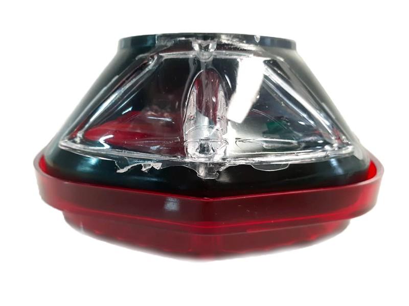 Lanterna Traseira FORD F100 COM VIGIA, Vermelha - O Par