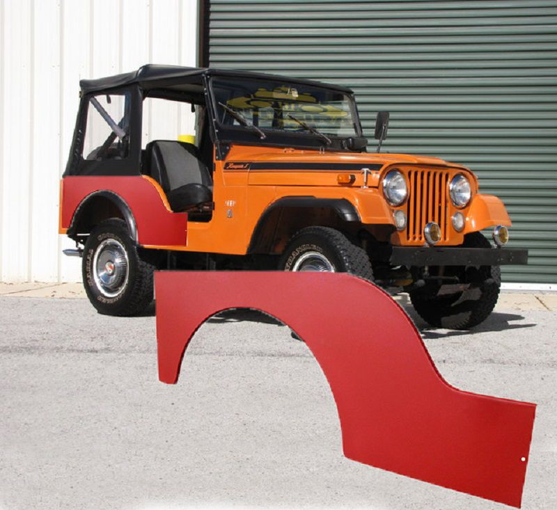 Lateral Traseira Direita Para Jeep Willys Cj3