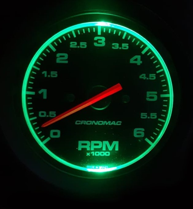 Led's Manometros Relógios Cronomac 52/ 60/ 85/ 100mm - 3 VD