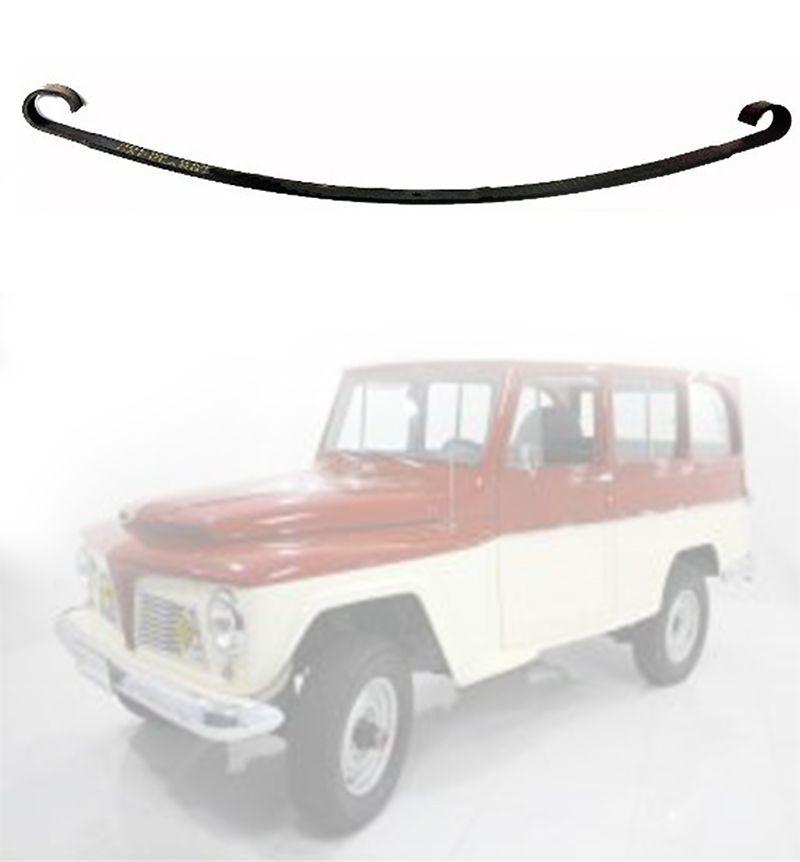 Mola 2ª Folha Dianteiro Jeep Pick-Up, Rural 1958/ 1965