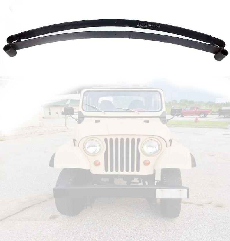 Mola Mestra E 2ª Folha Dianteiro Jeep Willys CJ5 1955/ 1979