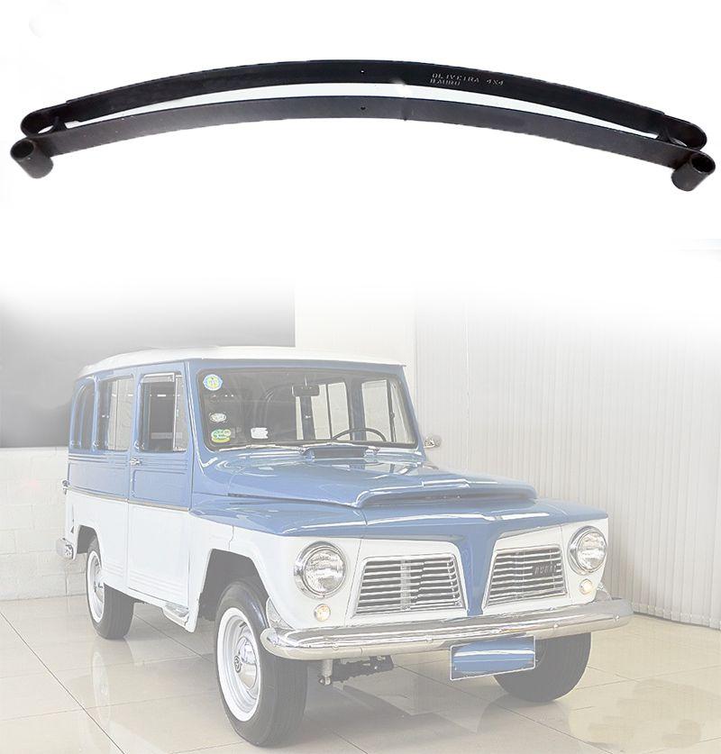 Mola Mestra E 2ª Folha Jeep Willys/ F-75/ Rural - Traseiro 1965/ 1983
