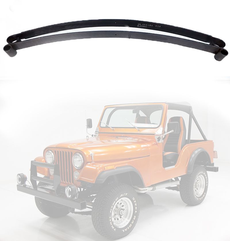 Mola Mestra E 2ª Folha Traseiro Jeep Willys CJ5 1955/ 1979