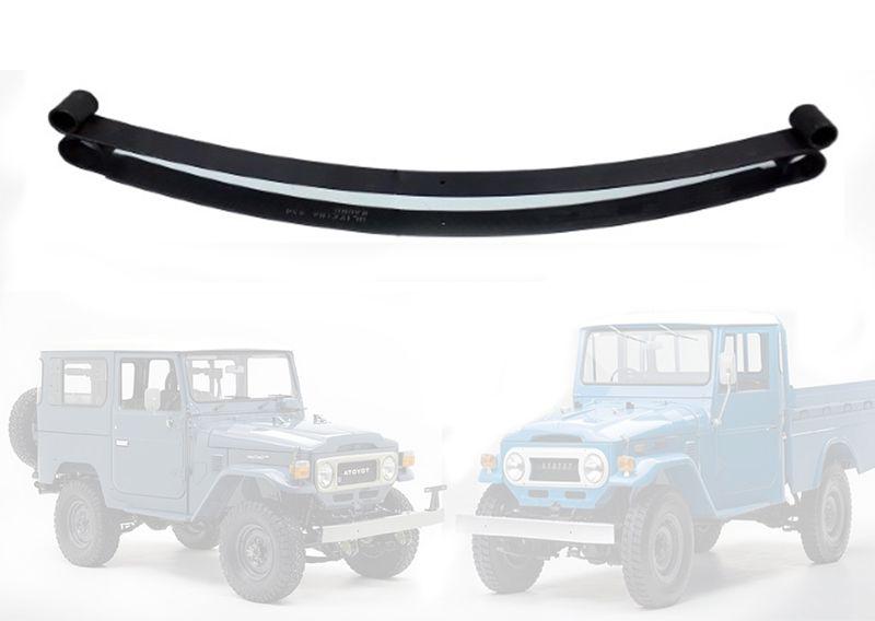 Mola Mestra e 2°Folha Dianteiro Jeep Furgão, Pick-Up, Bandeirante 1983...