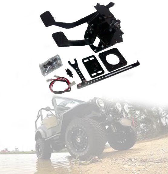 Pedais Suspenso De Freio e Embreagem Jeep Willys Cj3/ Cj2