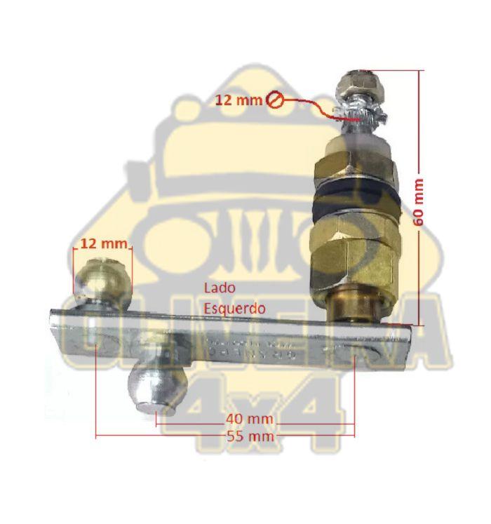 Pivo Limpador de Parabrisa Troller T4 apos 2005/ Lado Esquerdo