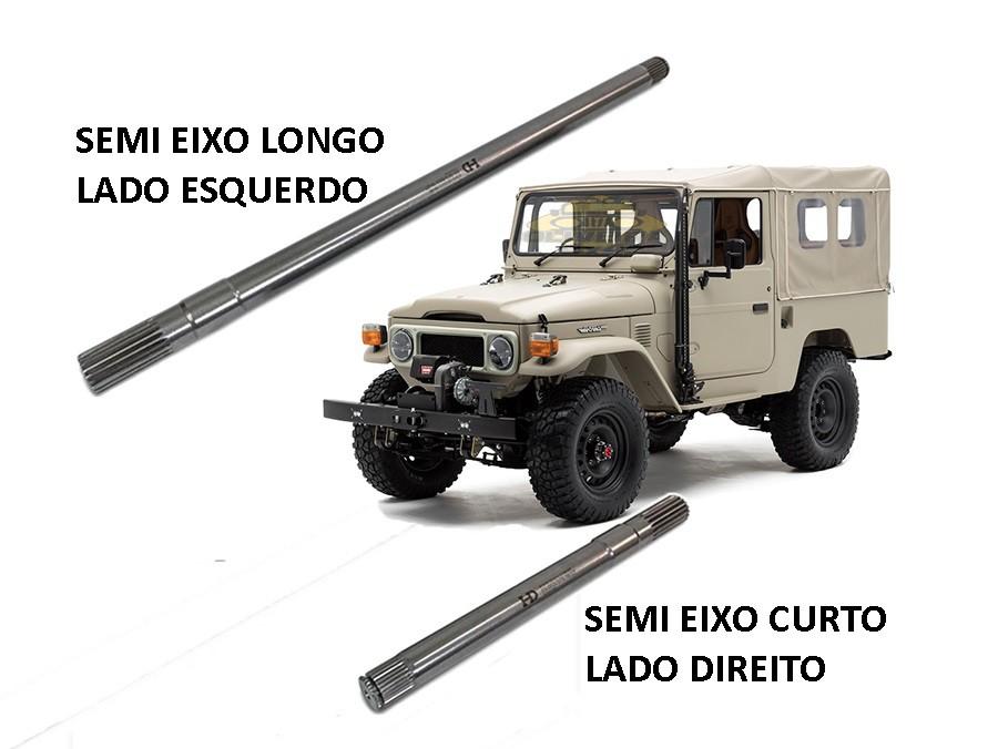 Ponta Eixo Forjado Dianteira TOYOTA Bandeirante