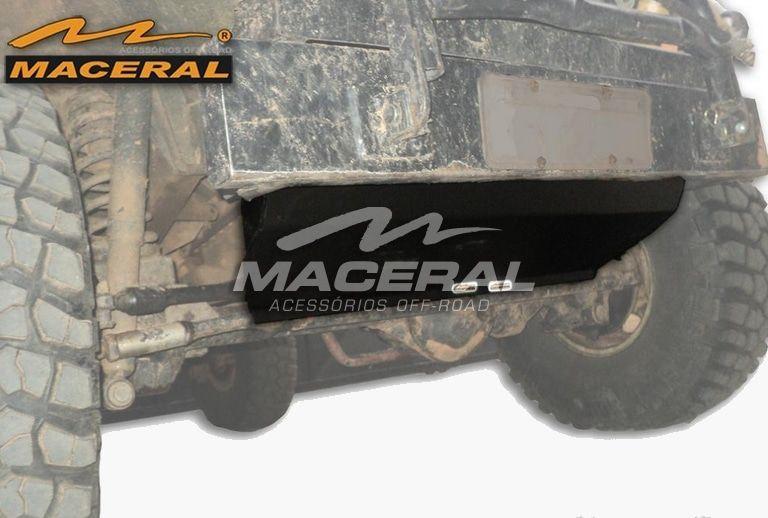 Protetor Barra De Direção Peito De Aço Troller 2.8d 2001,T4