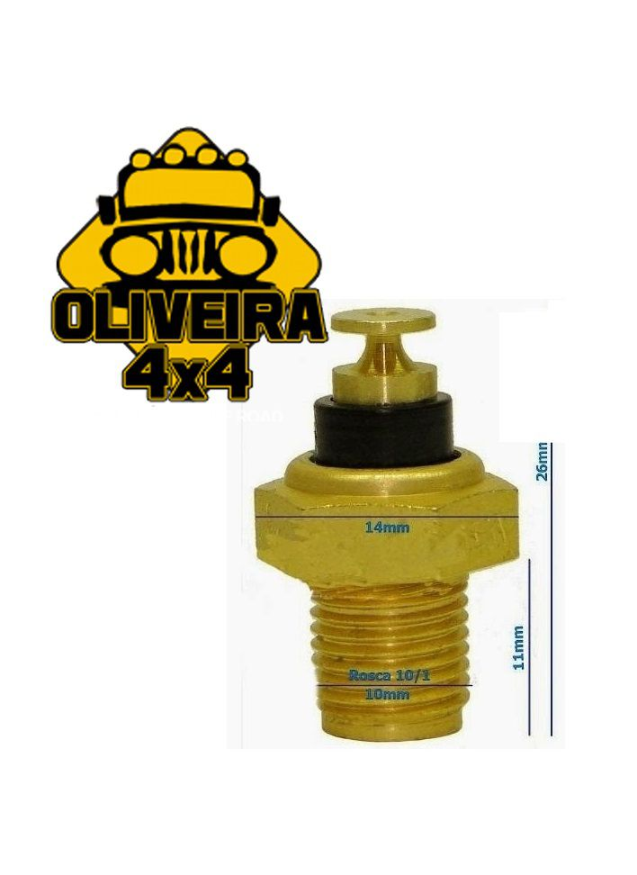Sensor Temperatura Cebolinha Termômetro Água Óleo Motor