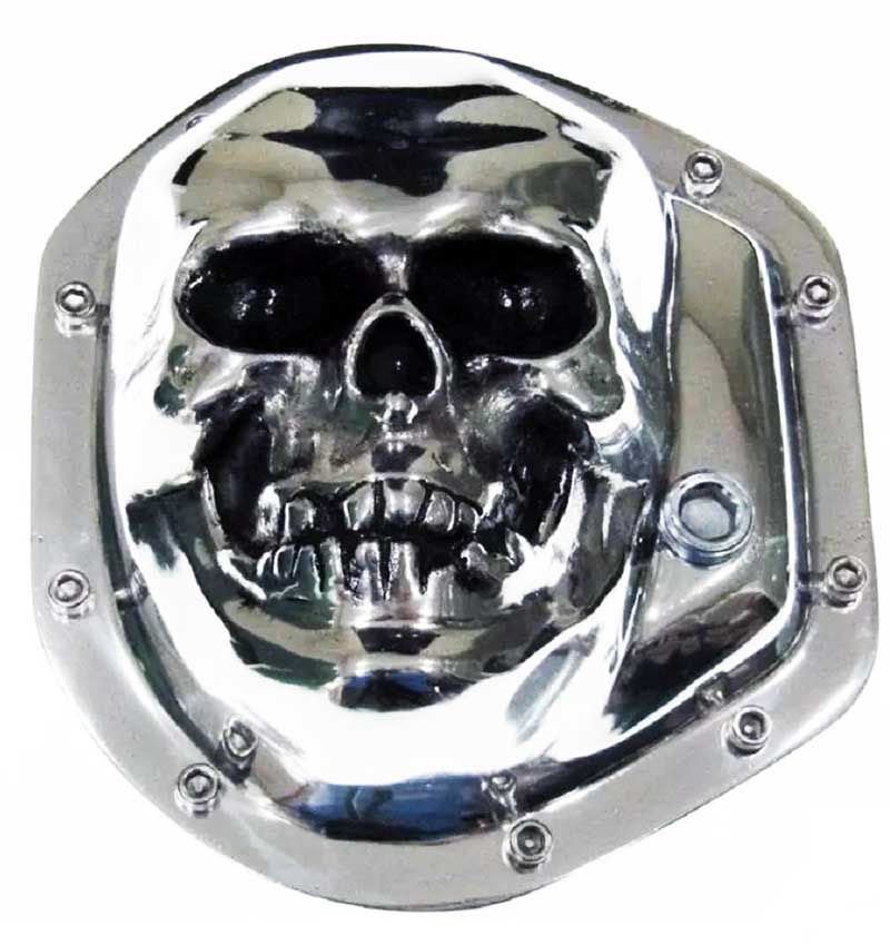 Tampa Diferencial Aluminio Polido - Dana 60 - Caveira