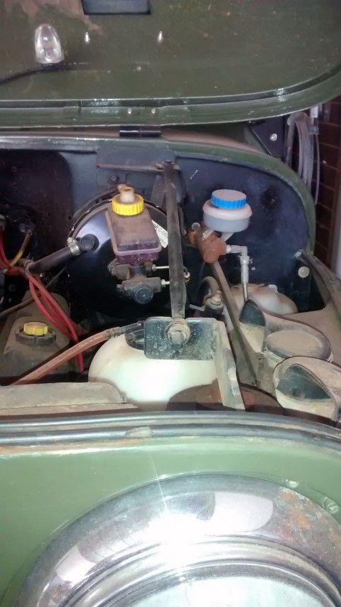 Tensor Da Grade Do Painel Jeep Willys Cj5/ Cj6 - 760 mm