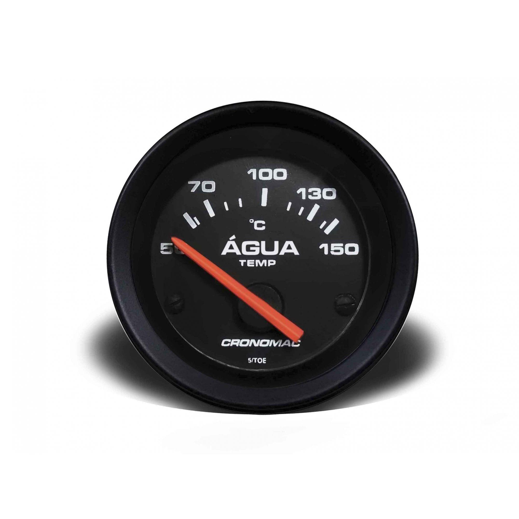 Termometro/Eletr /60mm/Agua/ST-Preto