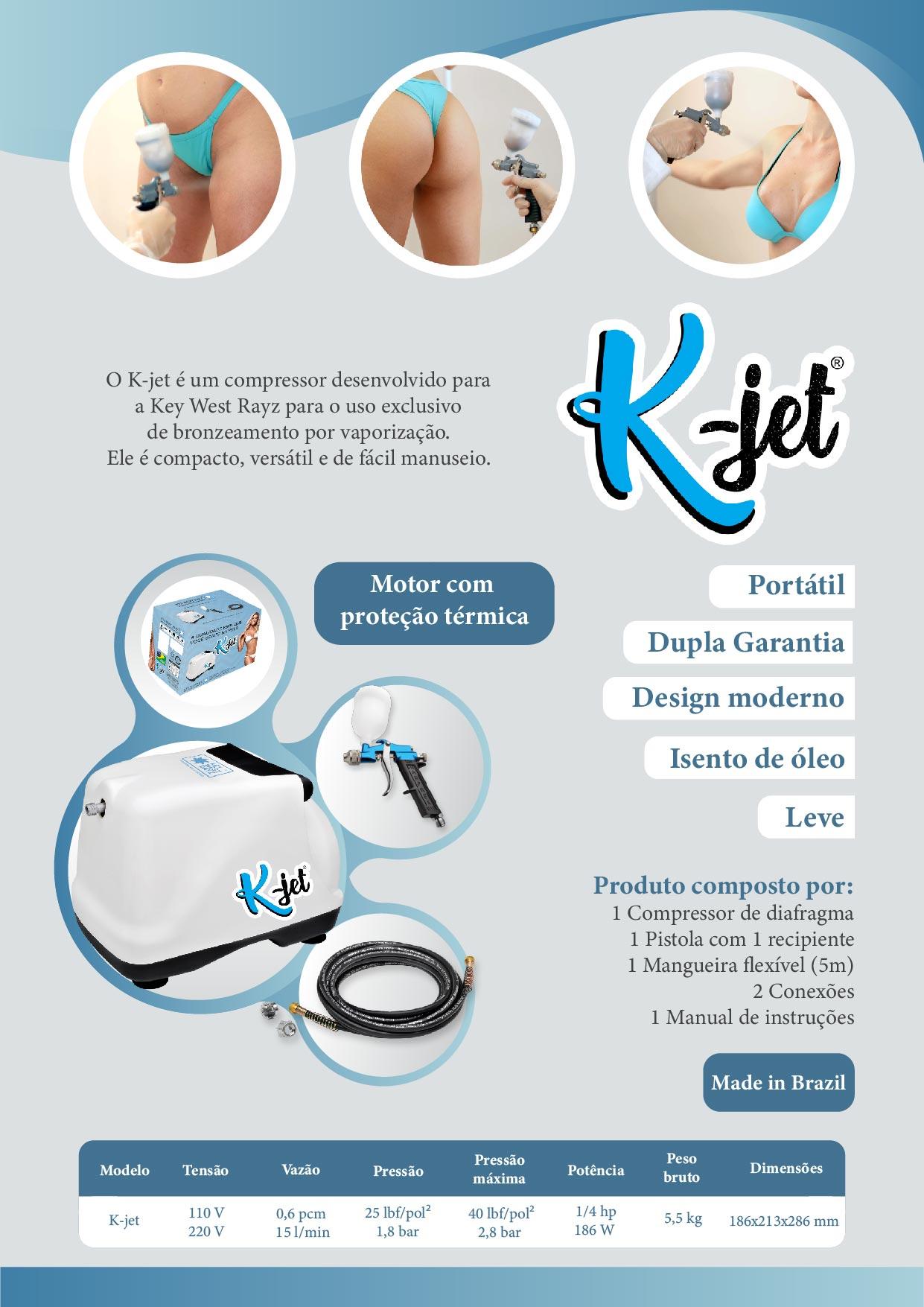 Compressor K-JET  - Key West Rayz