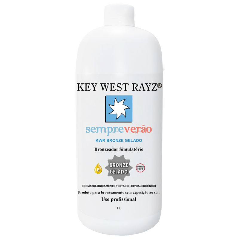 Bronze Gelado 1L  - Key West Rayz