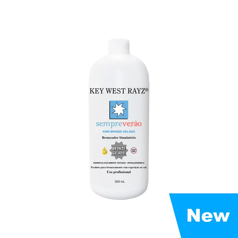 KWR Bronze Gelado 500ml  - Key West Rayz