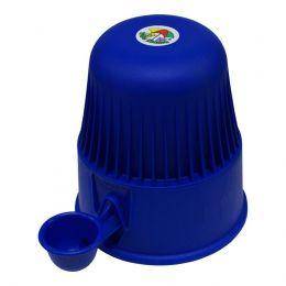 Bebedouro Vida Mansa 2 Litros Polipropileno Azul Escuro
