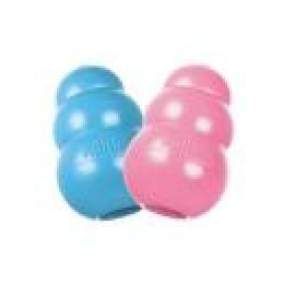 Brinquedo Interativo KONG Puppy com Dispenser de Ração ou Petisco para Filhotes Cor Variada