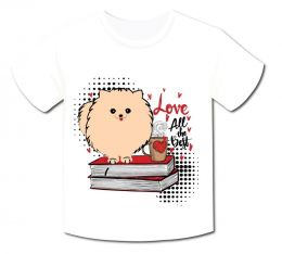 Camiseta Spitz Love All The Best