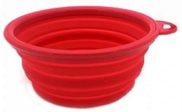 Comedouro ou Bebedouro Portátil - Vermelho