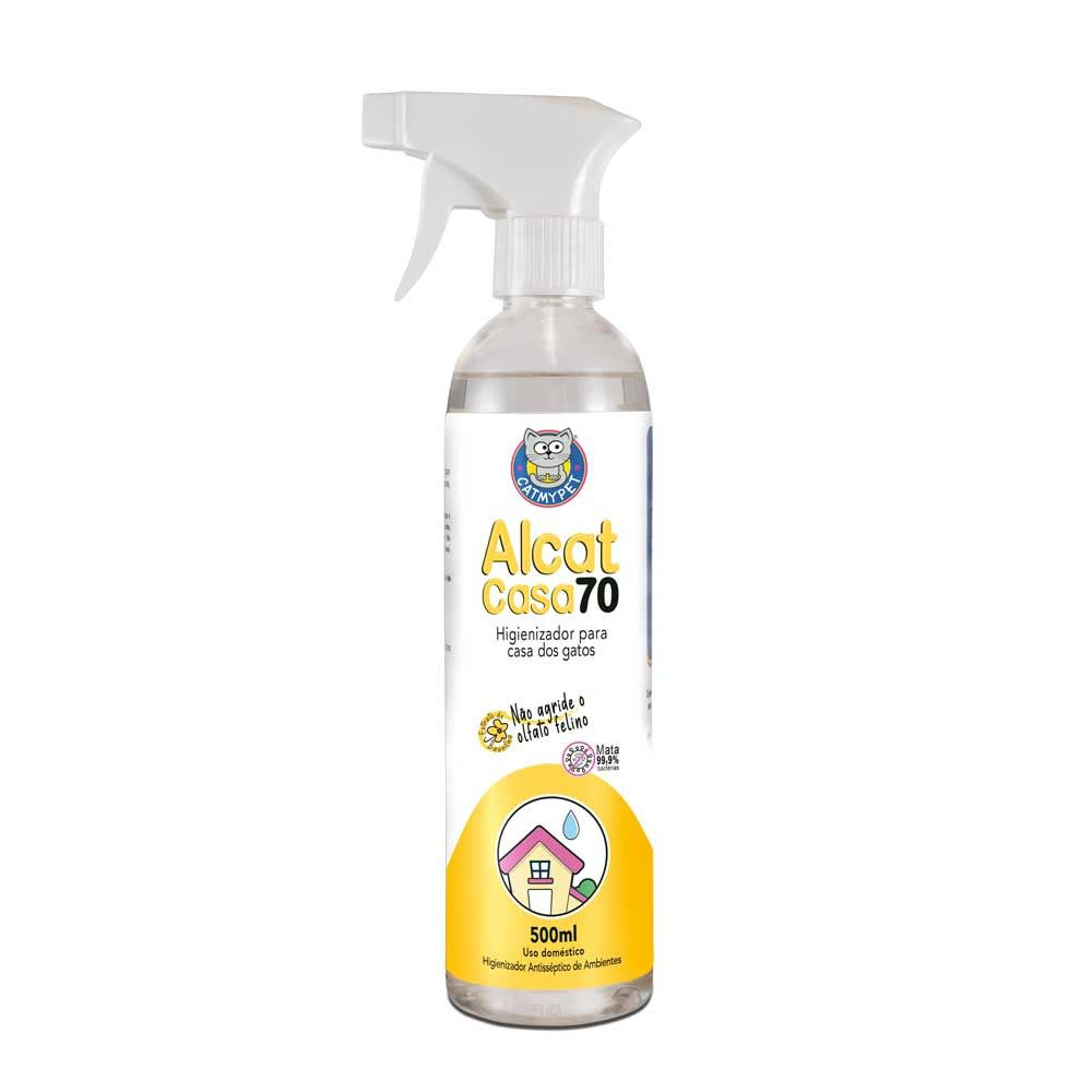 Alcat Casa 70 - Higienizador para Casa dos Pets ( Higienizador de ambientes e acessórios )