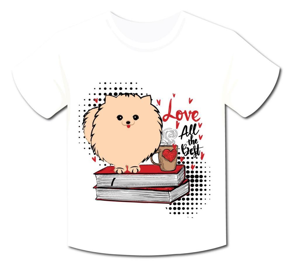 Camiseta Spitz Love All The Best
