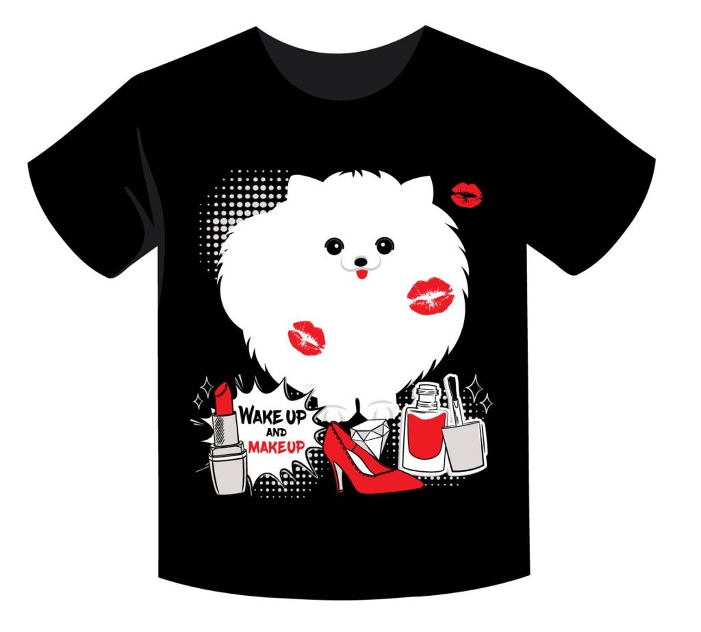 Camiseta Spitz Love Kisses
