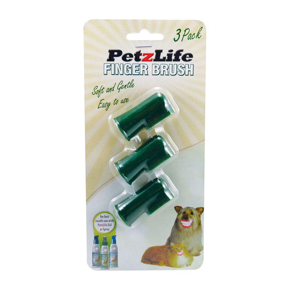 Escova de Dentes Dedeira Petz Life 3 unidades