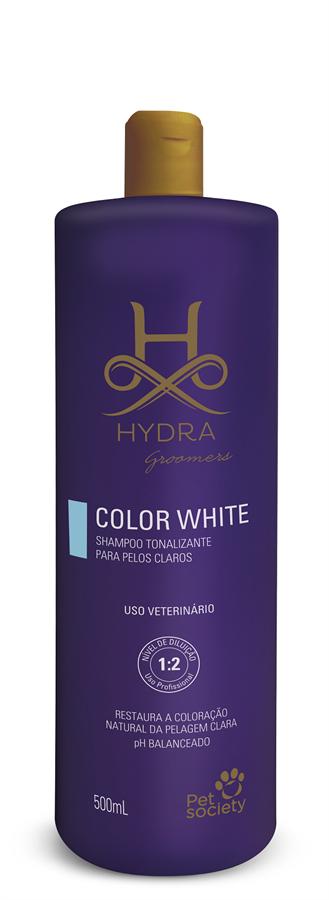 Hydra Groomers Color White Shampoo 500ml