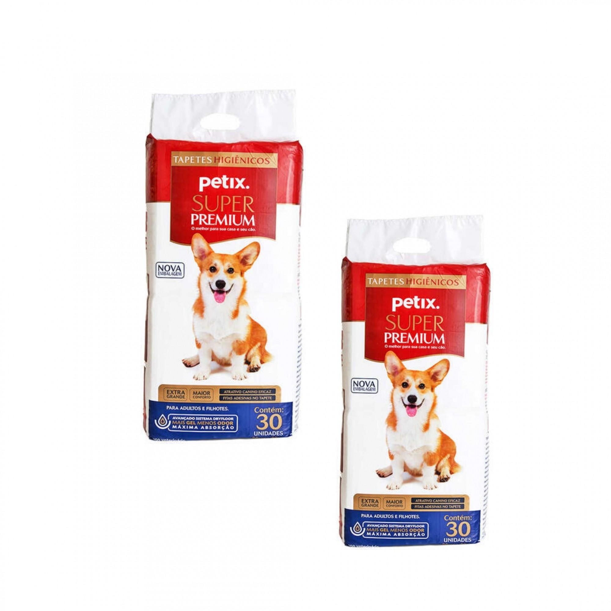 Kit Tapete Higiênico Petix Super Premium