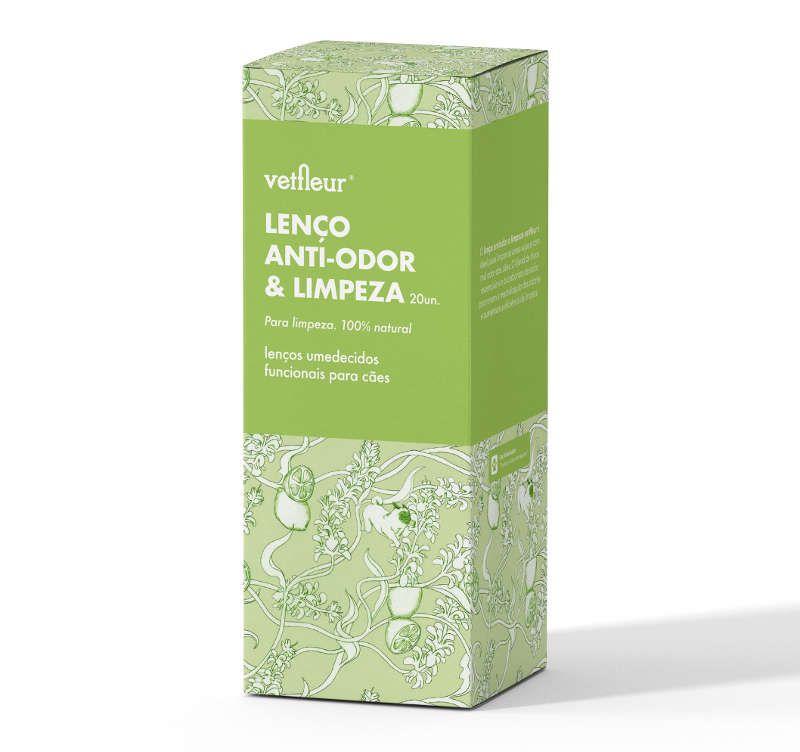 Lenço Anti-odor e Limpeza