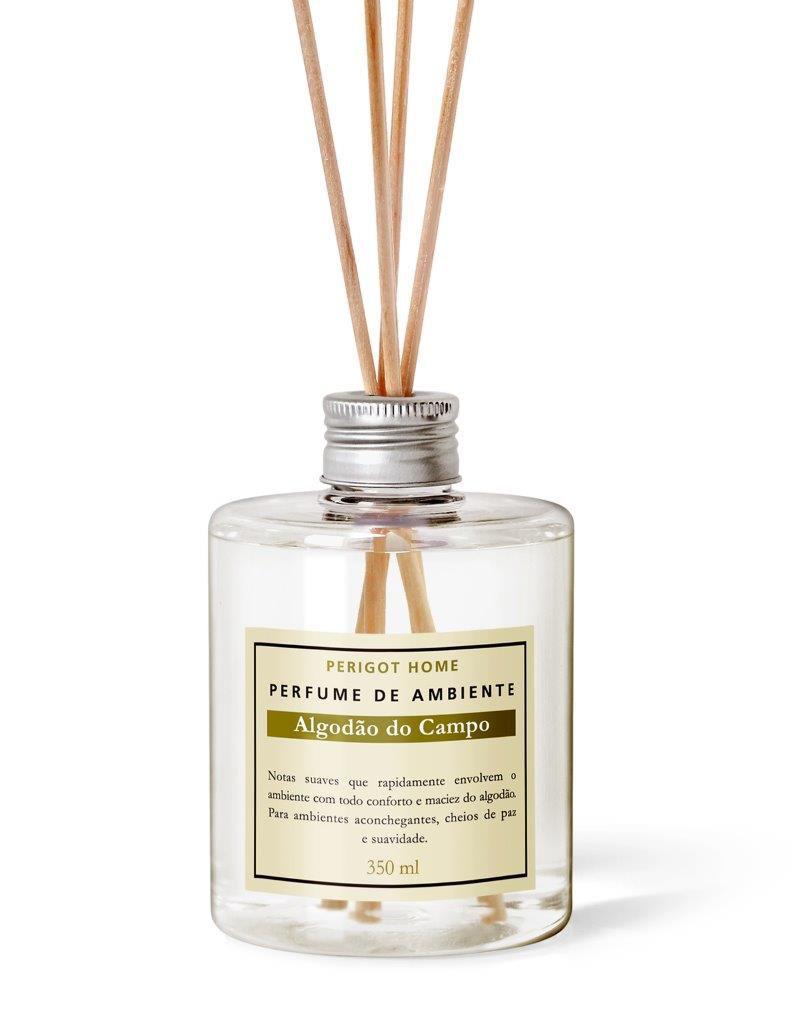 Perfume de Ambiente Perigot– Algodão do Campo – 350 ml