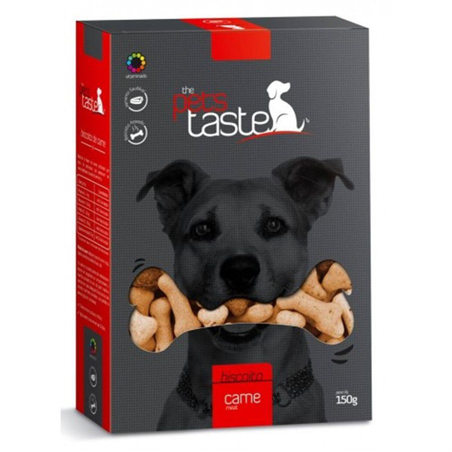 Petisco Funcional de Carne com Cenoura The Pets Taste 150g