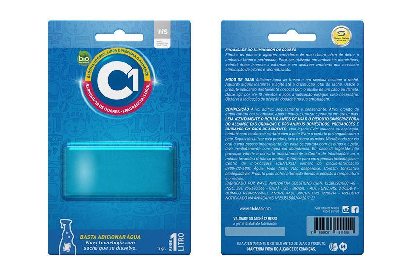 Refil Eliminador de Odores C1 Floral 1L