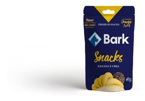 Snack Premium Bark - Banana e chia 60g