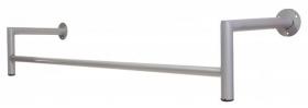 Arara De Parede Para Loja Reta L 120cm Comac