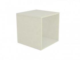 Base Comac fixa para vitrine modelo simples tamanho 40 x 40 x 40 cm