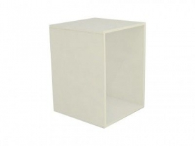 Base Comac fixa para vitrine modelo simples tamanho 45 x 60 x 45 cm
