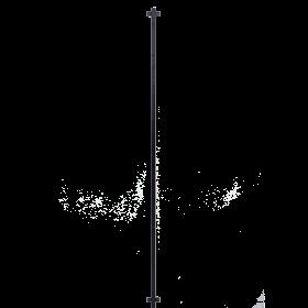 Coluna expositora tubular Screw 180 cm Comac