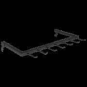 Expositor para Cintos 60 x 29 cm de Cremalheira Comac