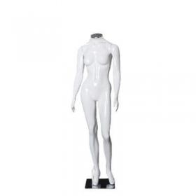 Manequim de fibra feminino Comac na cor branca sem cabeça modelo A.BR