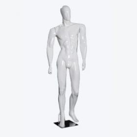 Manequim Masculino Para Loja Branco De Fibra ET 61R.BR Comac