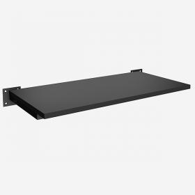 Prateleira Quadrada Leve Simples 60x30 cm Cor Preta ou Branca Comac