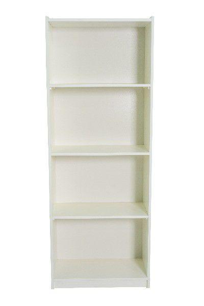 Armário 100 % MDF modelo Biblioteca New alto 60x160x30 cm Comac